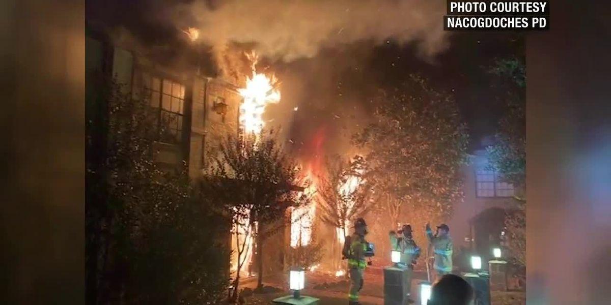 Un incendio grande de un apartamento en Nacogdoches desplaza a muchos residentes