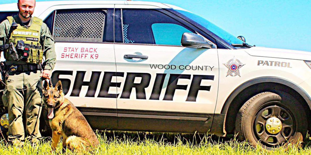 La Oficina del Sheriff del condado Wood presenta un nuevo equipo K9