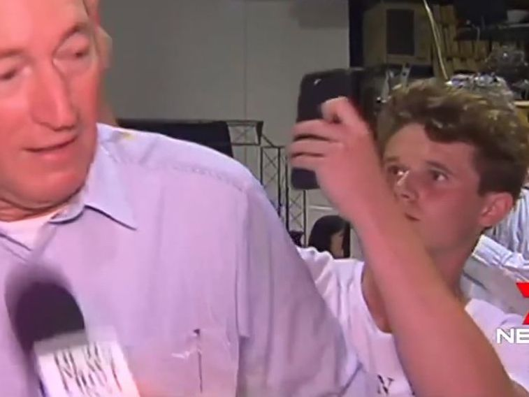 Watch: Teenager smashes egg on Australian senator, who blamed NZ massacre on immigration policies