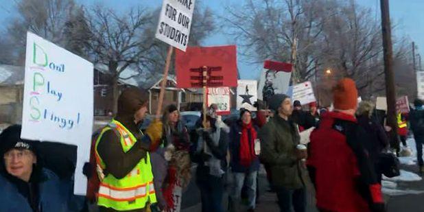 Denver teachers strike over pay dispute