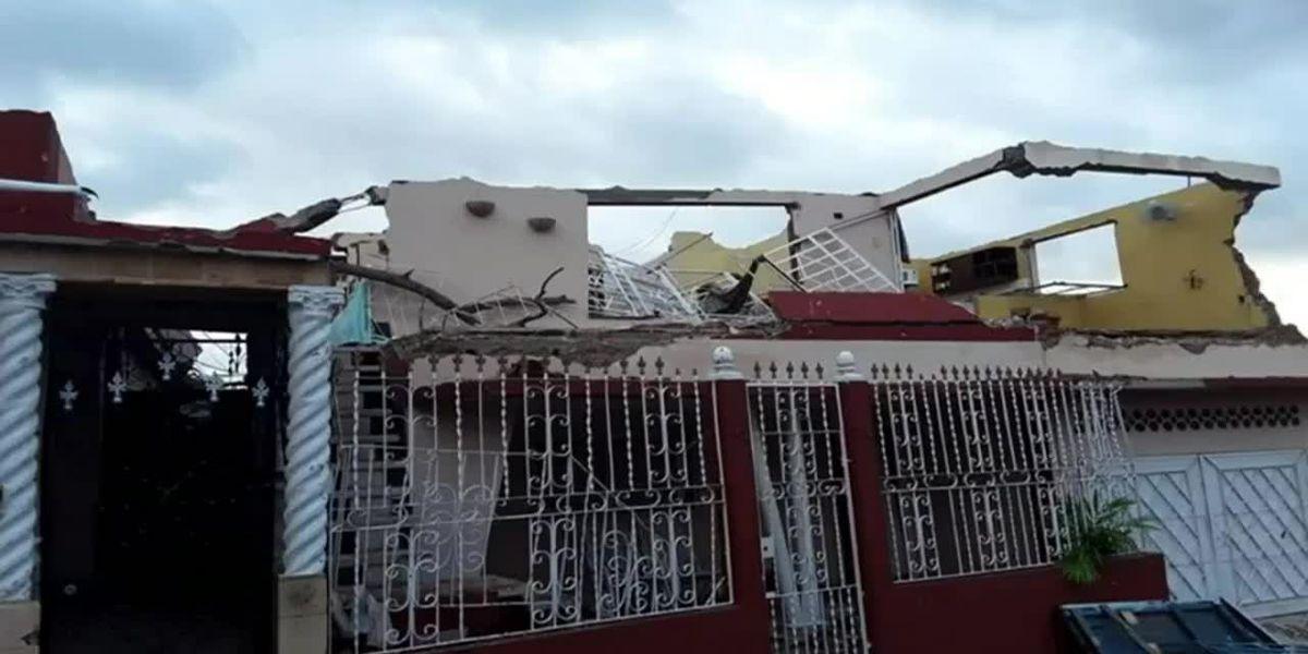 Devastador tornado golpea Habana, deja 3 muertes