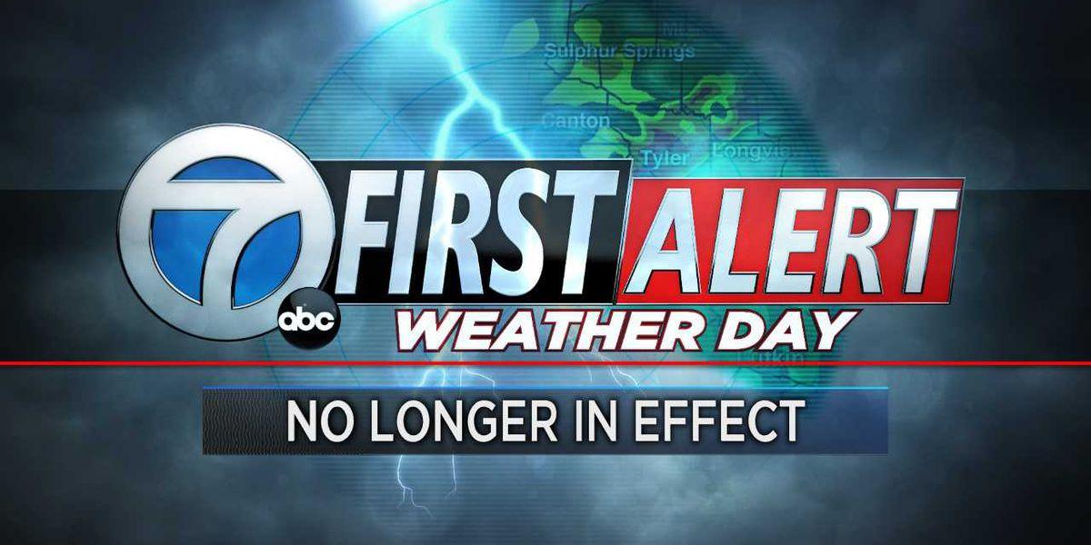 Cancela Día de Primera Alerta, tormentas fuertes se quedan una posibilidad