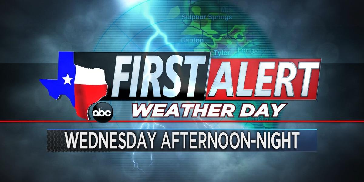 Día de Primera Alerta emitido por esta tarde, noche
