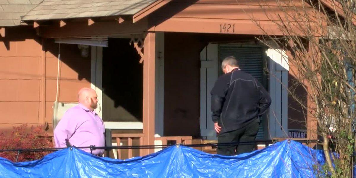 Autoridades en la escena de homicidio en Tyler