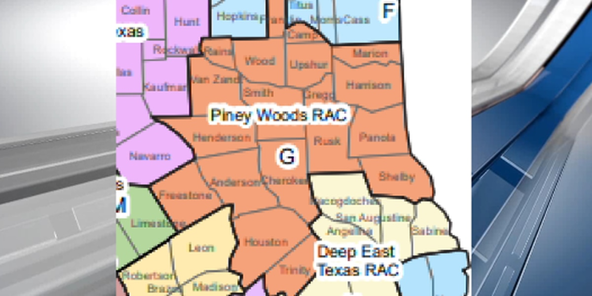 Tasa de hospitalización por COVID-19 en el este de Texas por encima del umbral de reapertura por quinto día consecutivo