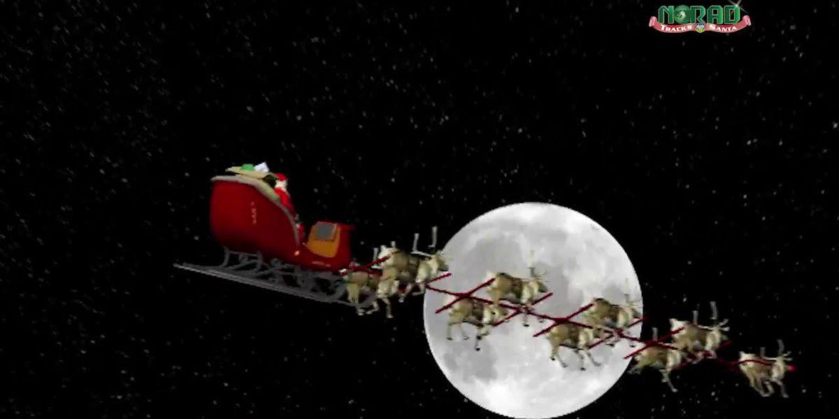 Sigue el camino de Papá Noel esta Nochebuena