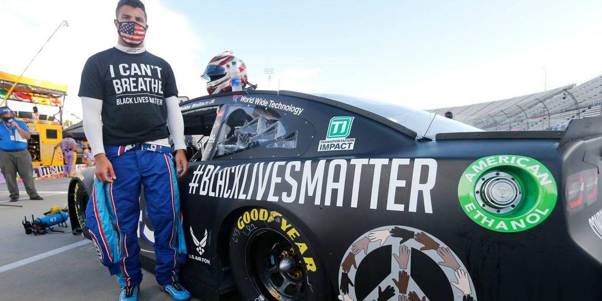 Hallan una soga en el puesto de Wallace en carrera de NASCAR