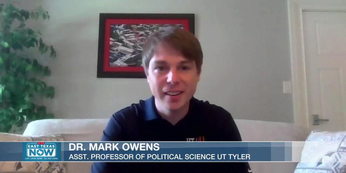 MIRA: Profesor de UT Tyler explica cómo el sistema electoral decide la presidencia