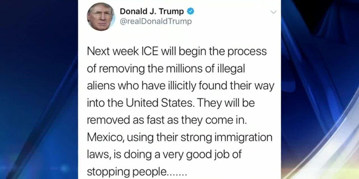 Inmigrantes reaccionan tras de que Trump amenaza a deportar milones