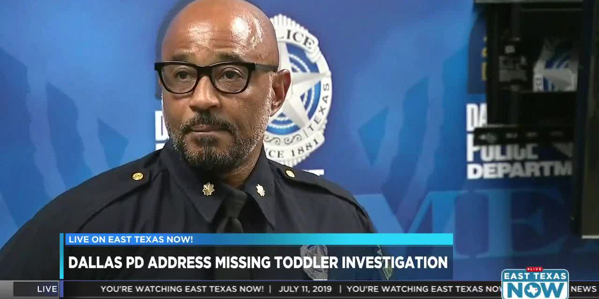 LIVE: Dallas Police Department representative discusses missing child, canceled Amber Alert