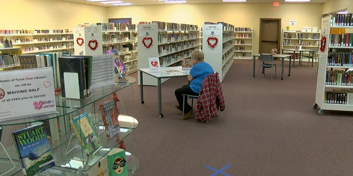 Troup Library recibe una subvención de $57K para remodelar el interior de la biblioteca