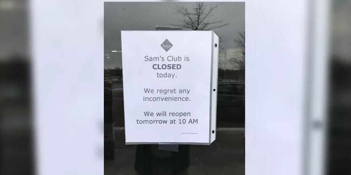 Sam's Club cierra tiendas alrededor del pais