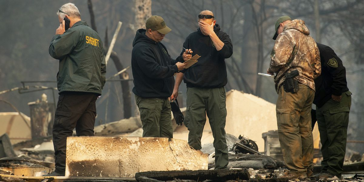 AP News Guide: Fires blaze on 2 ends of California, kill 25