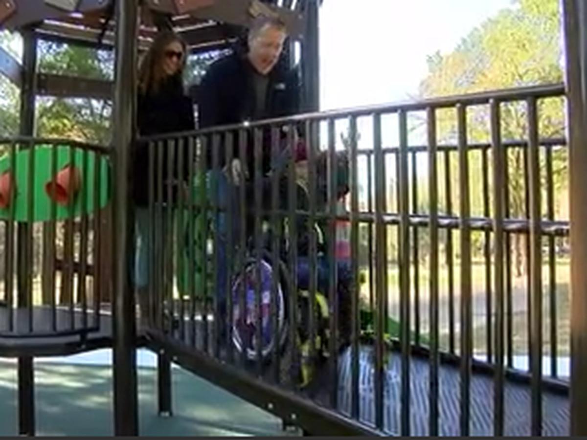 Parque inclusiva abre en Tyler
