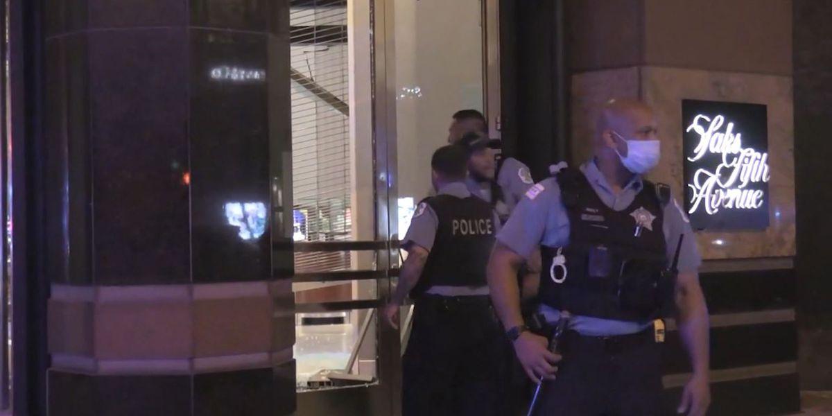 Estallan disturbios y saqueos en Chicago; 100 detenidos